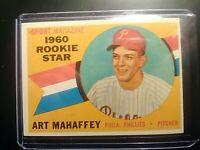 1960 Topps #138 Art Mahaffey Rookie Star Phillies NrMt NM High Grade