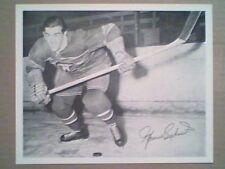 MAURICE RICHARD  1945-54 QUAKER OATS 8 X 10 PHOTO