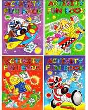 Jeu de 4 x A4 activité AMUSANT PUZZLE & Coloriage Books ENFANTS NEUF Série 3205