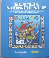 SUPERMONDIALE=ITALIA 90=RIPRODUZIONE ALBUM PANINI=Baggio=Schillaci=Notti magiche