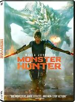 Monster Hunter (DVD 2020) NEW* Action, Adventure, Fantasy* FREE SHIPPING!!!