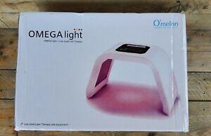 Omelon OMEGA LED Light Therapy Skin Care Device 7 Color Photon