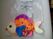 Ty beanie babies collection. Lips. The tropical fish! D.o.b. March 15th, 1999