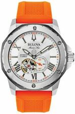 Bulova Marine Star Collection 200m Stainless Steel Mens Watch 98A226
