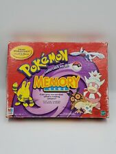 Vintage Pokemon Gold & Silver Memory Game Hasbro MB 1999 Pokeballs Near Complete