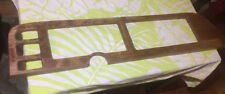 Vintage 1979-1991 Ford Van Custom Dash Board Gauge Cluster Wood Cover Trim Panel