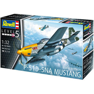 Revell P-51D-5NA Mustang (Early Version) (Scale 1:32) Model Kit 03944 NEW
