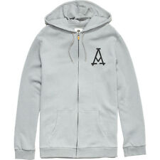 Arbor Mason Full Zip Hoodie - Men's Small Grey - Snowboard Skateboard