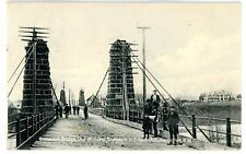 Huntington WV -1851 GUYANDOTT BRIDGE- Postcard Rare View! West Virginia