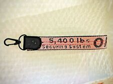 Off White Industrial Belt Key Ring Key Chain Lanyard LIMITED EDITION PINK COLOR