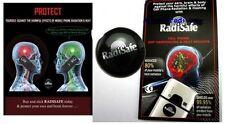 3x Quantum Escudo etiqueta engomada Anti radiación para los teléfonos móviles Radi seguro radisafe
