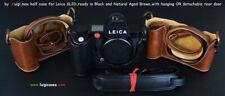 LUIGI NEW PREMIUM CASE for LEICA SL2-D,STRAP,BATTERY SLOTS+UPS INCL,SELECT COLOR