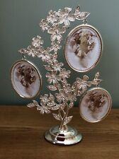 Daisy Family Tree Photo Frame Silver And Diamante By Shudehill