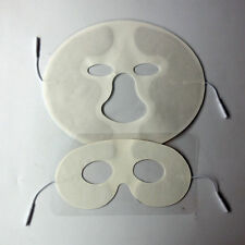 Electrotherapy Face Electrode Massage Pad  For Tens/EMS Machine Eyes/Face Mask