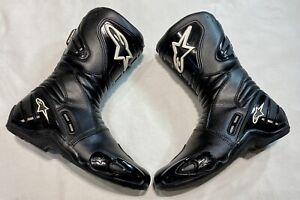 ALPINESTARS S-MX 4 Motorcycle Motorbike Biker Boots Size UK 10.5 / EU 45