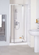 Lakes 700x1850 Semi-Frameless Pivot Door Silver Clear