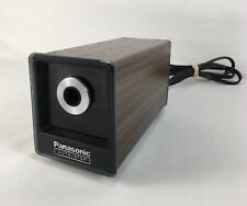 Panasonic Auto-Stop Kp-77A Electric Pencil Sharpener ~ Tested Works ~