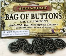 Steampunk Bag of Buttons Costume accessory 8ct.