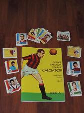 ALBUM CALCIATORI PANINI 1961-62 ANASTATICO+SET COMPLETO FIGURINE DA ATTACCARE