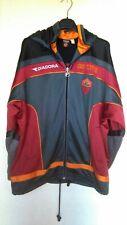 QJY Roma Adulto Sportswear Suit Manica Lunga Jersey Giacca da Calcio Ufficiale Giacca da Calcio Atletica e Pantaloni da 2 Pezzi