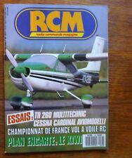 Aéromodelisme R C M RADIO COMMANDE MAGAZINE n° 89 Plan encarté Le Kiwi