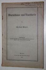 Herbert Meyer: tormenta bandera y estandarte. 1931. (trabajo histórico, presión especial)