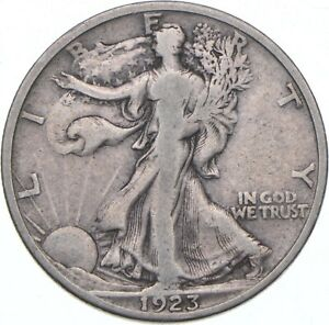 1923-S Walking Liberty Half Dollar - TC *326