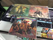 "Molly Hatchet Vinyl Record LP Lot Of 3 12"" Vinyl See Pics! Tested! Works!"