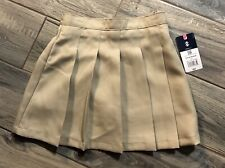 Girls Izod Khaki Skort New With Tags Size 6X Approved School wear Uniform