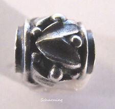 Authentic Trollbeads Silver bead Rhythm Drum TAGBE-10181