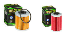 HiFlo Oil Filter Set Long & Short HF155 HF157 KTM 250 400 450 520 525 1st 2nd