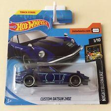 Hot Wheels 2018 Custom Datsun 240Z #15/365 Blue Short Card