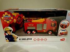 Dickie 203099612 - RC Feuerwehrmann Sam Jupiter Funk Licht TV-Serie Action Turbo