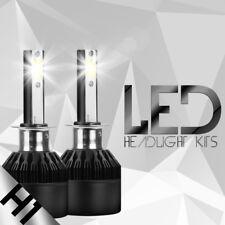 H1 8000K Ice Blue 8000LM High Power CREE LED Headlight Bulbs Kit High Low Beam