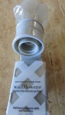 Bath and Body Works Gray Wallflower top Unit Diffuser Plug In
