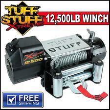 12500 LB WINCH WATERPROOF 12000 lbs- WIRELESS W/ SNATCHBLOCK FOR JEEP & TRAILER