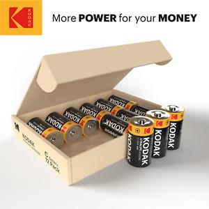 KODAK XTRALIFE C Cell Alkaline Batteries - C Type Battery - 12 Cells Pack