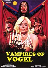 VAMPIRES OF VOGEL (DVD PRECINTADO ) AGATA LYS MARIA JOSE CANTUDO TERROR VAMPIROS