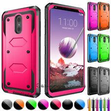 For LG Stylo 4 Plus/Stylus 4/Q Stylus Alpha Phone Case Hybrid Shockproof Cover