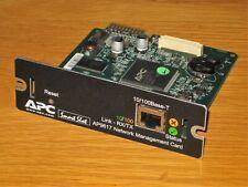 More details for apc smart slot ups network management card ap9617 10/100base-t link-rx/tx
