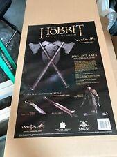 Weta Dwalins (dwalin's) Axes prop replica The Hobbit