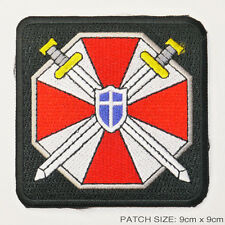 "RESIDENT EVIL ""Umbrella Corporation"" Cross Swords Special Forces Patch"