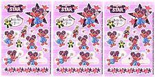 3 Sheets SESAME STREET ABBY CADABY Super Star Muppet Scrapbook Stickers