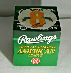 CAL RIPKEN JR Official Rawlings AL 2130/2131 Commemorative Baseball-NEW SEALED
