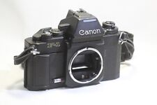 Canon New F-1 F1 AE Finder 35mm SLR Film Camera Body Only Made In Japan