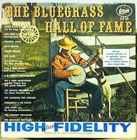 VARIOUS COUNTRY the bluegrass hall of fame LP VG+ SLP-181 Vinyl 1962 1st Press