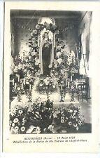 CP 02 Aisne - Rougeries - 12 Août 1928 - Bénédiction Statue de Ste Thérèse - b