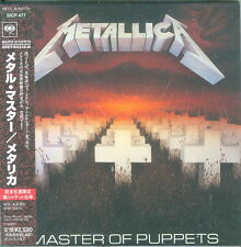 Metallica - Master of Puppets Japan Mini LP Sleeve CD SICP-477 Rare Brand NEW