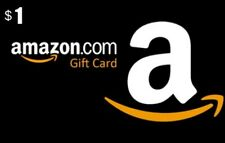 Gift Card Amazon 1 $ dollars shopping all over the world