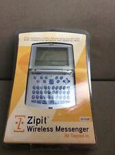 ZIPIT Personal Wireless Messenger 25-3328 FREE WIRELESS MESSENGING Portable